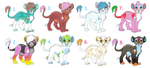Crystarium Lion Cub Adoptables 2 by KoyukitoriGirl
