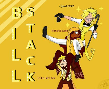 Human!Bill Cipher Stack! by Jane-Hunter95