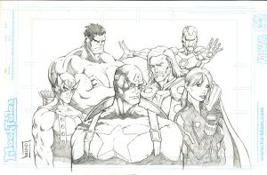 Avengers 2013 by gregscottbailey
