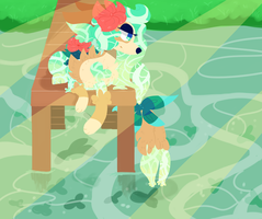Look at the Fishes by RycoRaptor