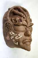 Dragon Rider Mask (sneak peek) by Faust-and-Company