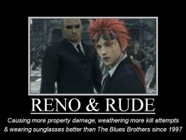 Reno + Rude :Demotivational: by ddraigcoch