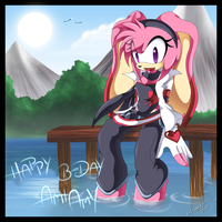 Happy Birthday Ami-chan by Chibi-Nuffie