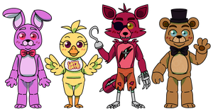 Five Nights at Freddy's Day by TheRaspberryFox
