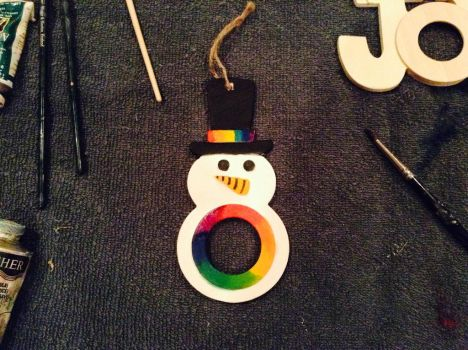 MY traditional snowman by Jade1221