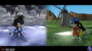 Vision of Fate:Frost vs Klonoa by Frost-the-Cat