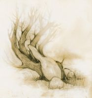 tree or hand? by grinar