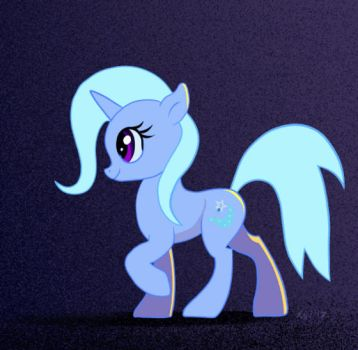 Trixie Pony walk Animated Gif by xbi