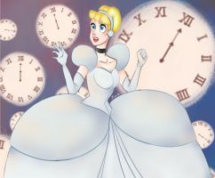 Cinderella's Clocks by Loopie-Love
