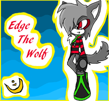 Edge the wolf by neon-talon-claw