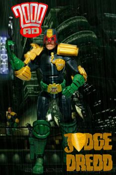 Judge Dredd Cover by JPS-Images