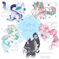 Feline Nymph Design Batch *CLOSED* by Reminel