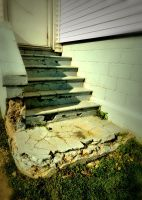 Old Stairs by tracy-Me