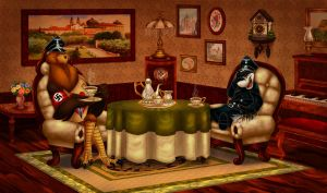 A Better Nazi General Has Never Sat at Tea by ThisCrispyKat