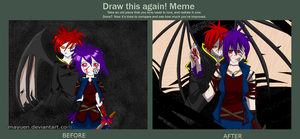 The Demon inside me - Before After Meme by Mayuen