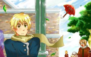 APH - Waiting For You by marimo-lover
