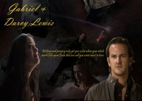 Gabriel and Darcy Lewis by TheQueenofLight