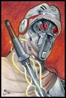 Sith MagnaGuard Sketch Card by MJasonReed
