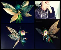 Babytooth - rise of the guardians (sculpture) by VioletIcarus