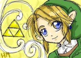 Happy Triforce by HyruleMaster
