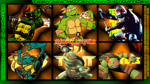 TMNT Generations 2 Wallpaper - Michelangelo by 2ndCityCrusader