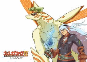 Breath of FIre IV Fou-Lu by Gaviniko