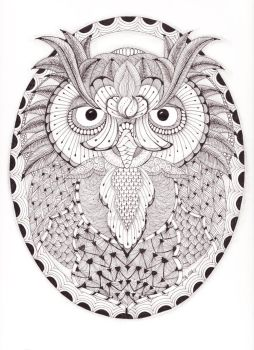 Tangled Owl 60814 001 by scootergirl762