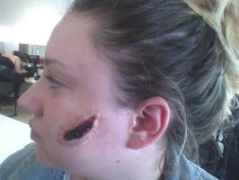 Geatin Scab Makeup by Malonluvr