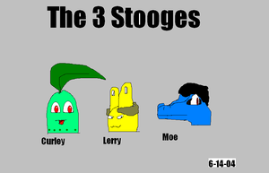 The 3 Stooges by Marcusthehedgehog