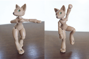 WIP: Anthro Fox BJD 02 by vonBorowsky