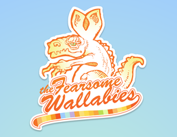 The Fearsome Wallabies by RedeemingDesign