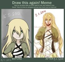 Draw this Meme again! by SahneCreamKuchen
