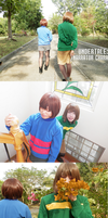 Undertale: Narrator Chara cosplay by jayceegiray