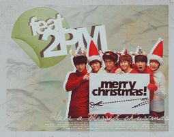 Xmas with 2PM by xcheckmatex