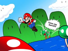 Cold Blood Mario by Robin-Mendoza
