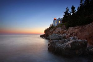 Bass Harbor Head Light by tfavretto