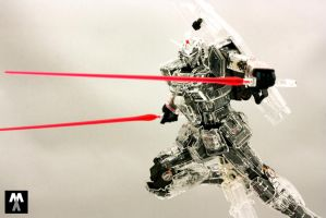 MG RX-78-2 ver 3.0 Mechanical Clear 4 by deadlyzulwarn