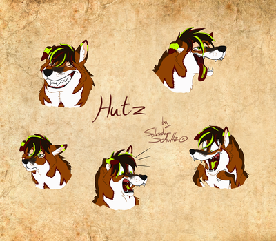 More face expressions of Hutz - Part 1 by StanHoneyThief