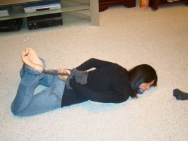 More Nina hogtied by BigRedIrony