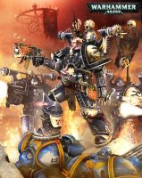 Warhammer40k.Chaos rising. by Spawn237