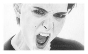 Natalie Portman is Gangster by deranged07