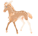 Padro Foal Design 7696 for Feya-san by theMadFurball