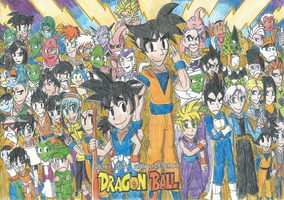 Dragon Ball's Happy 30th Anniversary!! by FelixToonimeFanX360