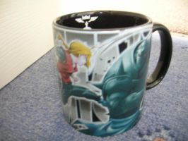 My Full Metal Alchemist Mug by firegirl1414