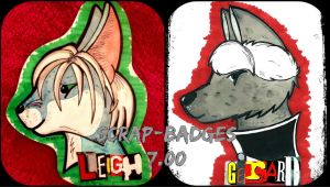 Scrap-Badges! by CinemaSpeaks