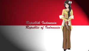 Indonesia Wallpaper by gaaradesert6
