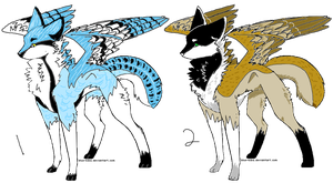 bird canine adopts 2- CLOSED by Wiggans-Adopts