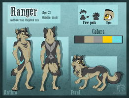 Ranger Reference Sheet by WindWo1f