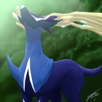 Xerneas by Koto-wari