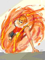 Pokemanz Request 5: Flamewheel by HKezza